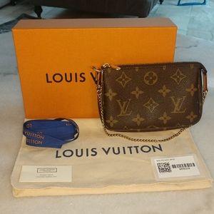 Authentic Louis Vuitton Mini Pochette Accessoire